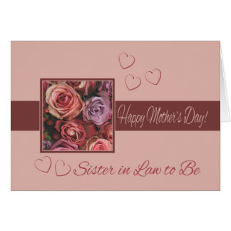 Happy Mothers Day For Sister Cards | Zazzle