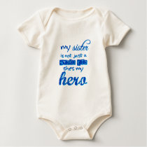 sister is a hydrokid baby bodysuit