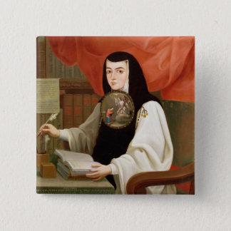 Sister Juana Ines de la Cruz Pinback Button
