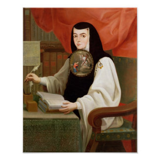 Sister Juana Ines de la Cruz Poster