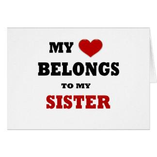 Sister Love Card