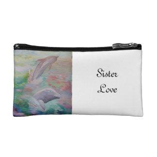 Sister Love cosmetics bag
