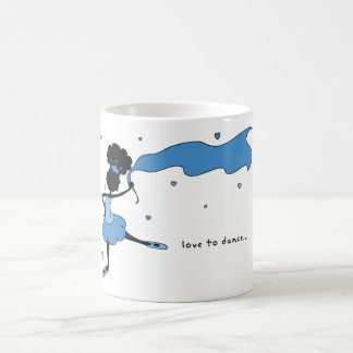 Sister Loves To Dance Mug (Blue)