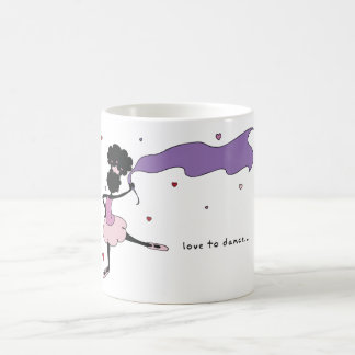 Sister Loves To Dance Mug (Pink/Purple)