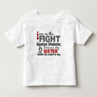 Sister Means World To Me Diabetes Tshirts
