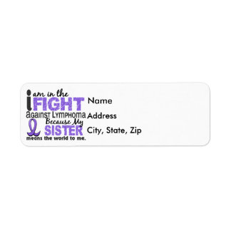 Sister Means World To Me H Lymphoma Label