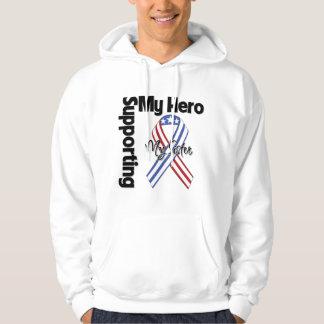 Sister - Military Supporting My Hero Hoodie