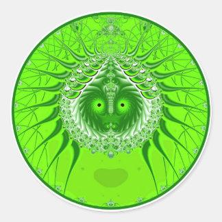 Sister Moon - Green Sticker