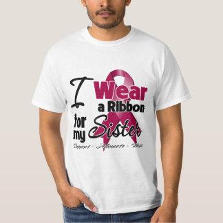 Sister - Multiple Myeloma Ribbon Tee Shirt