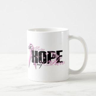 Sister My Hero - Breast Cancer Hope Coffee Mug