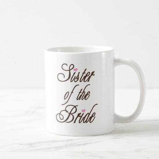 Sister of Bride Classy Browns Mug
