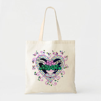 Sister of My Heart Best Friend Tote Bag