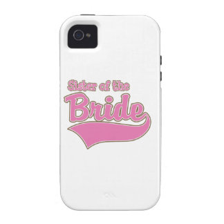 Sister of the Bride Vibe iPhone 4 Case
