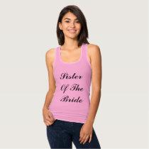 Sister Of The  Bride Lilac Purple Weddings Trendy Tank Top