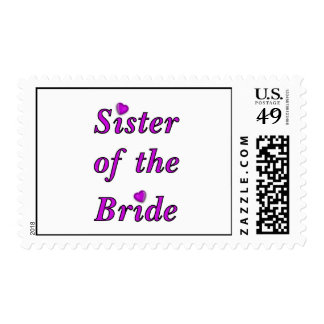 Sister of the Bride Simply Love Postage