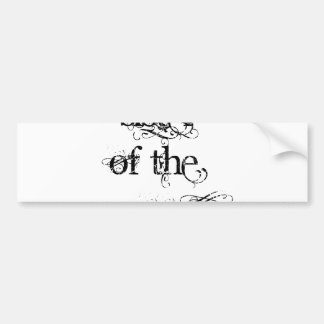 Sister of the Groom Bumper Sticker