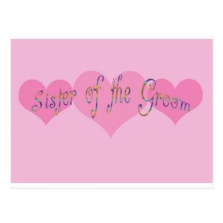 Sister of the Groom Postcard