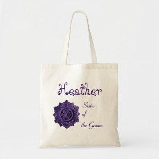 Sister of the Groom Vintage Ornamental Wedding Bags