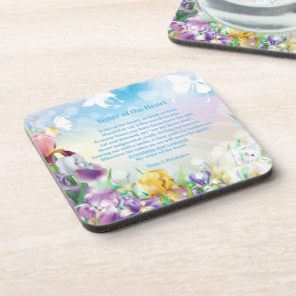 Sister of the Heart Poetry Collector Beverage Coaster