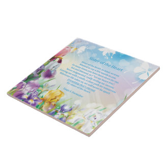 Sister of the Heart Poetry Collector Tile