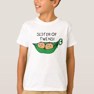 Sister of Twins Pod T-Shirt