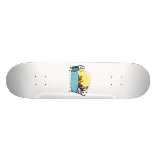 Sister on the Phone Skateboard Deck