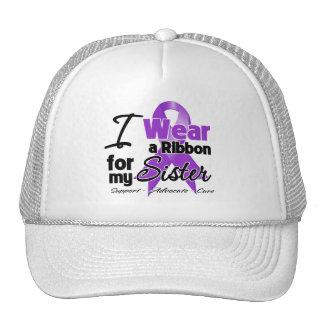 Sister - Pancreatic Cancer Ribbon Trucker Hats