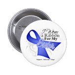 Sister Periwinkle Ribbon - Stomach Cancer Buttons