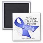 Sister Periwinkle Ribbon - Stomach Cancer Refrigerator Magnet