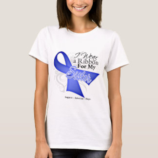 Sister Periwinkle Ribbon - Stomach Cancer T-Shirt