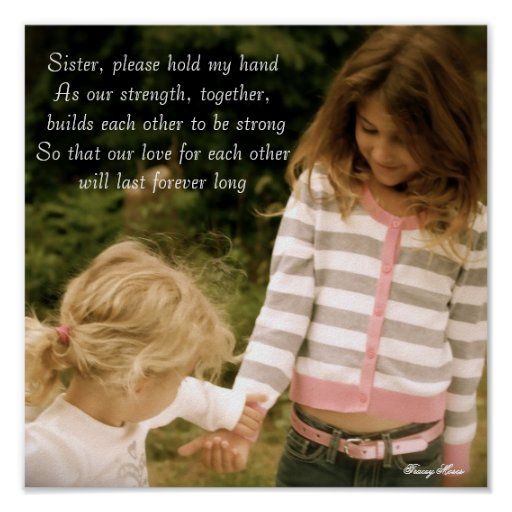 , Sister, please hold my handAs our str... Poster