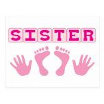 Sister Postcard
