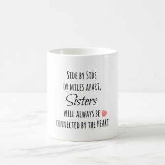 Sister Quote Classic White Coffee Mug