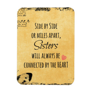 Sister Quote Rectangular Photo Magnet