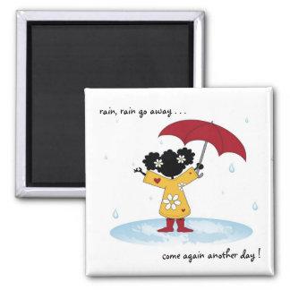 Sister Rain Splash Magnet