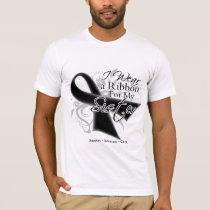 Sister Ribbon - Melanoma Skin Cancer T-Shirt