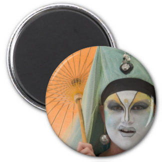 Sister Saviour Applause 2 Inch Round Magnet