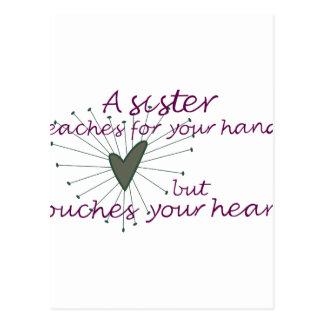 Sister Saying Postcard