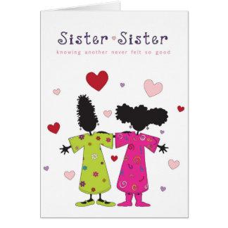 Sister - Sister Card
