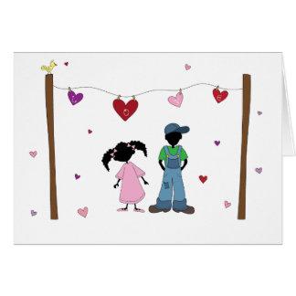 Sister-Sister Love Line... Card
