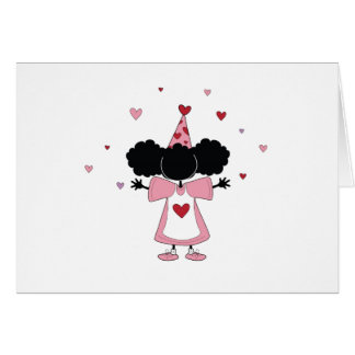 Sister-Sister Pink Party Girl Card