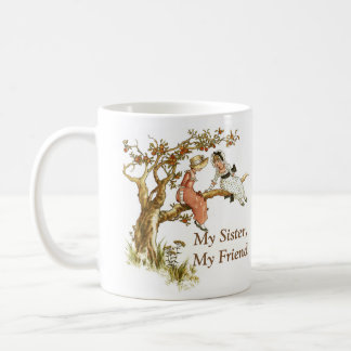 Sister Talk Customize the Text Classic White Coffee Mug