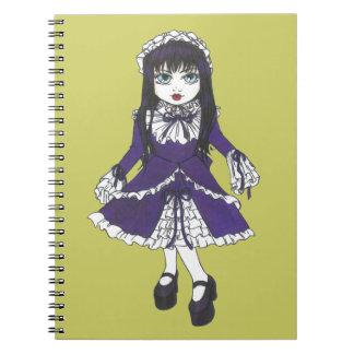Sister Violet Notebook