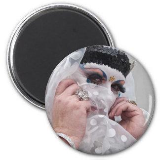 Sister Viv Acious 2 Inch Round Magnet
