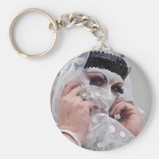 Sister Viv Acious Basic Round Button Keychain