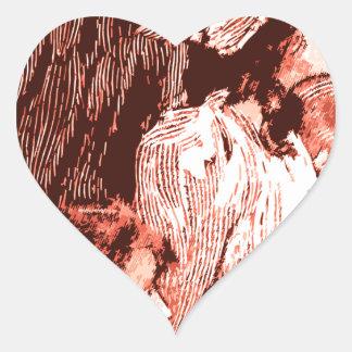 Sisterhood Heart Sticker