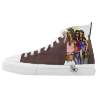 Sisterhood High-Top Sneakers
