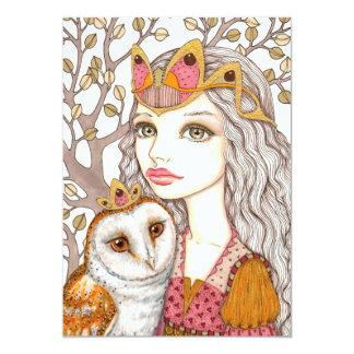Sisterhood of the White Owl Card
