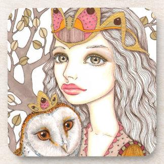 Sisterhood of the White Owl Drink Coasters