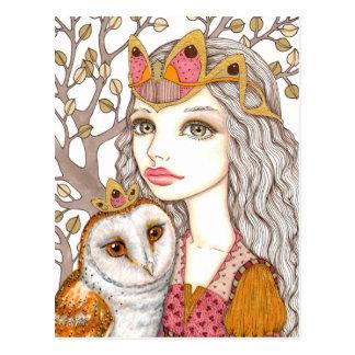 Sisterhood of the White Owl Postcard